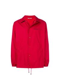 rote Shirtjacke von Valentino