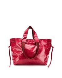 rote Shopper Tasche aus Leder von Isabel Marant