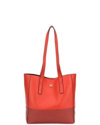 rote Shopper Tasche aus Leder von MICHAEL Michael Kors