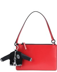 rote Shopper Tasche aus Leder von Opening Ceremony