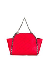 rote Shopper Tasche aus Leder von Stella McCartney