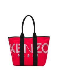 rote Shopper Tasche aus Segeltuch von Kenzo