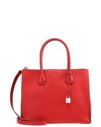 rote Shopper Tasche von Michael Kors