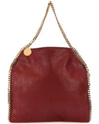rote Shopper Tasche von Stella McCartney