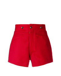 rote Shorts von Maison Margiela