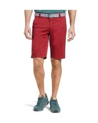 rote Shorts von MEYER