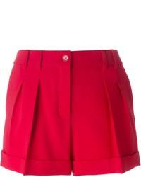 rote Shorts von Moschino
