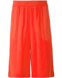 rote Shorts von MSGM