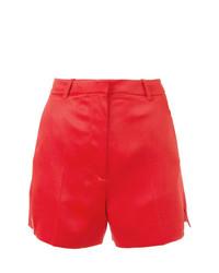 rote Shorts von Mugler