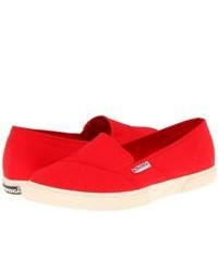 Rote slip on sneakers original 9765337