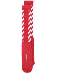 rote Socken von Off-White