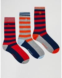rote Socken von Original Penguin