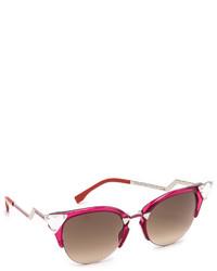 rote Sonnenbrille von Fendi