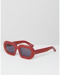 rote Sonnenbrille von House of Holland