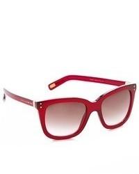 rote Sonnenbrille von Marc Jacobs