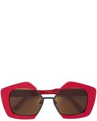 rote Sonnenbrille von Marni