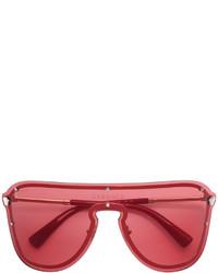 rote Sonnenbrille von Versace