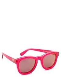rote Sonnenbrille von Wildfox Couture