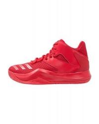 rote Sportschuhe von adidas