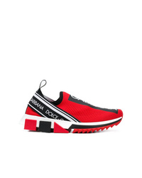 rote Sportschuhe von Dolce & Gabbana