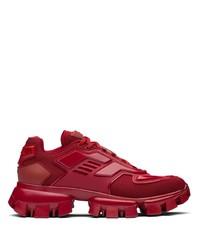 rote Sportschuhe von Prada