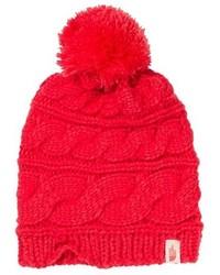 rote Strick Mütze