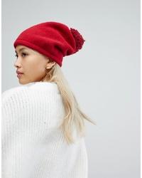 rote Strick Mütze von Helene Berman