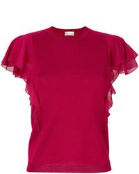 rote Strick Wollbluse von RED Valentino