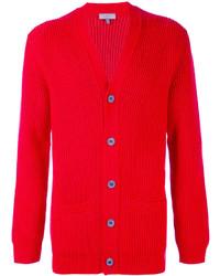 rote Strickjacke von Lanvin