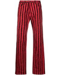 rote und schwarze Jeans von Kenzo