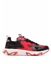 rote und schwarze Sportschuhe von Karl Lagerfeld