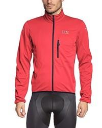 rote Windjacke von Gore Bike Wear