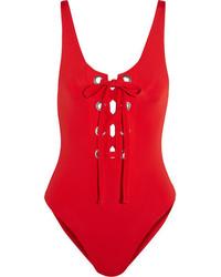 roter Badeanzug von Mara Hoffman