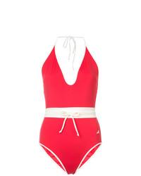 roter Badeanzug von Morgan Lane