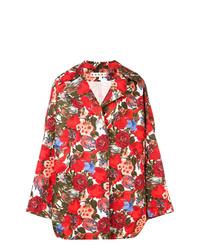 roter bedruckter Mantel von Marni
