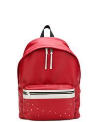 roter bedruckter Rucksack