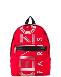 roter bedruckter Rucksack von Kenzo