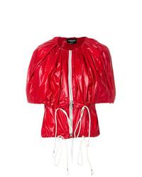 roter Cape Mantel von Calvin Klein 205W39nyc