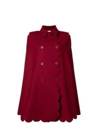 roter Cape Mantel von RED Valentino