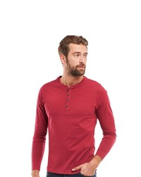 roter Henley-Pullover von ENGBERS