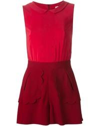 roter kurzer Jumpsuit von RED Valentino