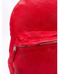 roter Leder Rucksack von Giorgio Brato