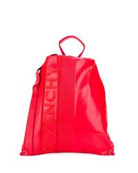 roter Leder Rucksack von Givenchy