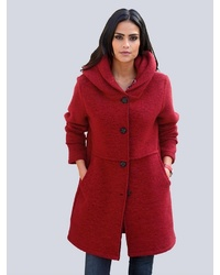roter Mantel von Alba Moda
