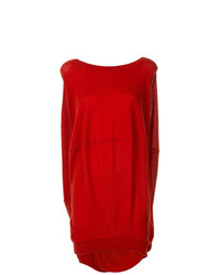 roter Oversize Pullover von Marni