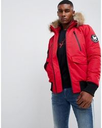 roter Parka von Good For Nothing