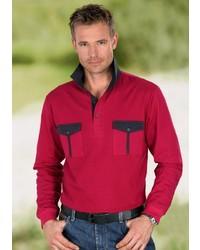 roter Polo Pullover von CLASSIC BASICS