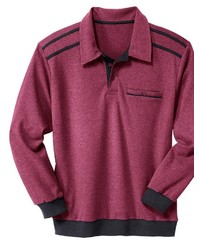 roter Polo Pullover von Classic