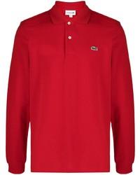 roter Polo Pullover von Lacoste
