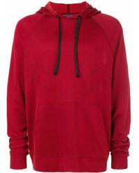 roter Pullover mit einem Kapuze von Lanvin